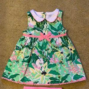 Crown & Ivy Bunny Easter Dress 18m Toddler Girls
